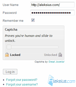 Core Design Captcha plugin